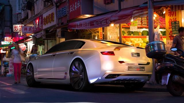 Qoros 9 Sedan Concept: Berlina de alta gama para 2020 2