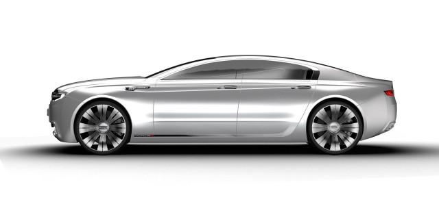 Qoros 9 Sedan Concept: Berlina de alta gama para 2020 3