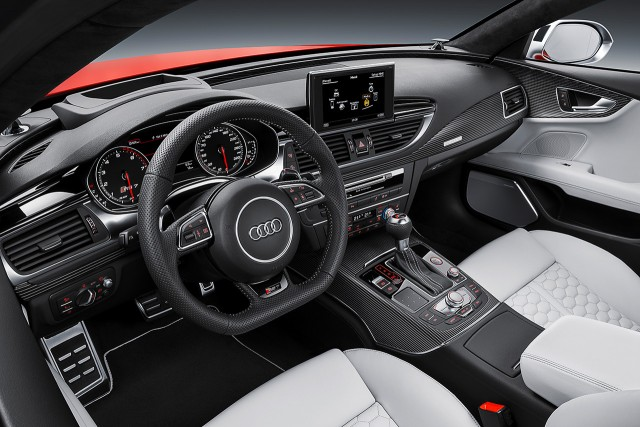 Saluda al nuevo Audi RS7 2014 3
