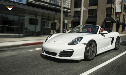 Así luce el Porsche Boxster S de Vorsteiner