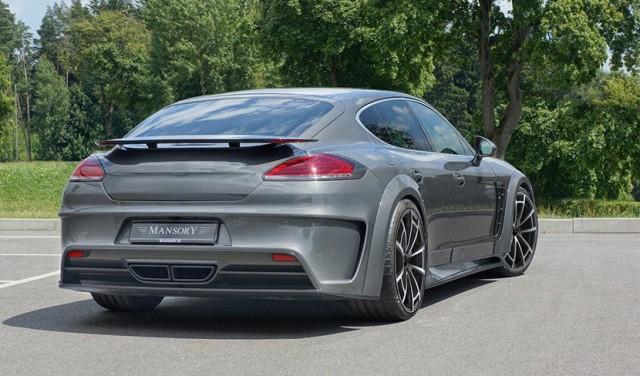 Así luce el Porsche Panamera 2014 tras pasar por el garaje Mansory 2