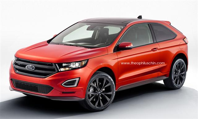 Así sería el Ford Edge de 3 puertas, una idea interesante en Europ 2