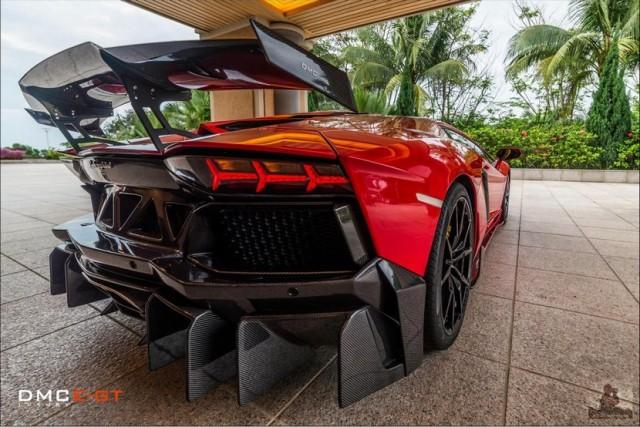 Lamborghini Aventador LP988 Edicione GT, la última gran obra maestra de DMC 3