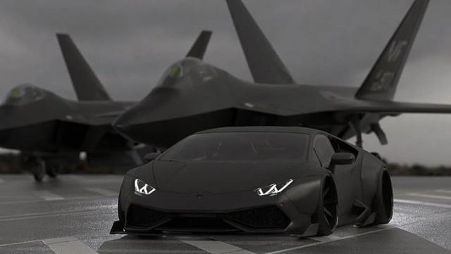Liberty Walk nos avanza los primeros bocetos de su Lamborghini Huracán 1