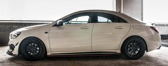 Mejora estéticamente tu Mercedes CLA gracias al kit de RevoZport 3