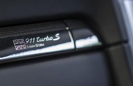 Porsche 911 Turbo S GB Edition, edición limitada exclusiva para Inglaterra