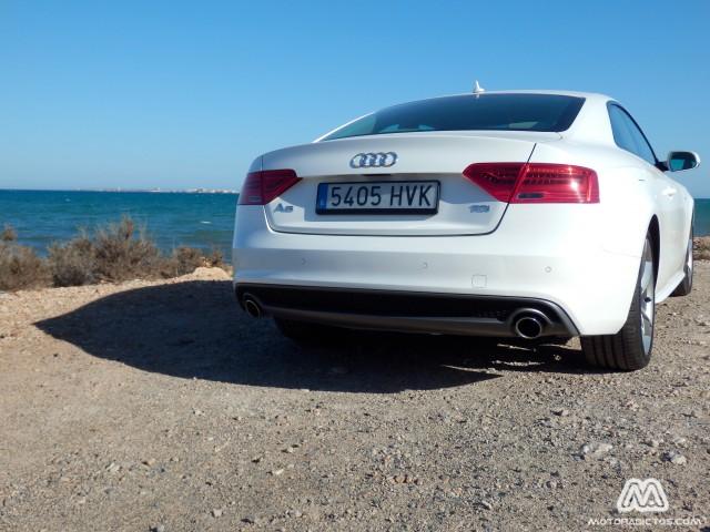 Prueba: Audi A5 3.0 V6 204 CV Multitronic (diseño, habitáculo, mecánica) 6