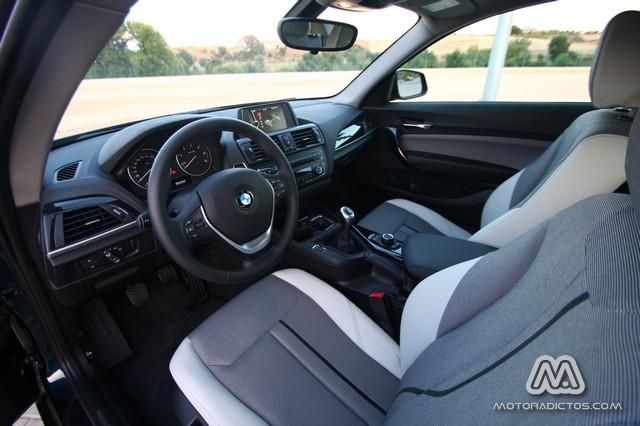 Prueba: BMW 116d Urban (diseño, habitáculo, mecánica) 4