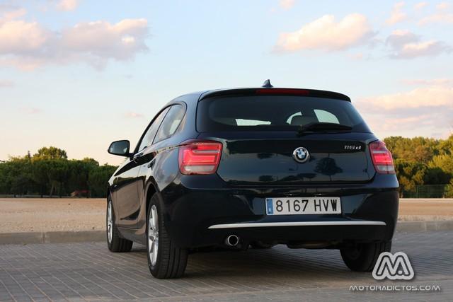 Prueba: BMW 116d Urban (diseño, habitáculo, mecánica) 6
