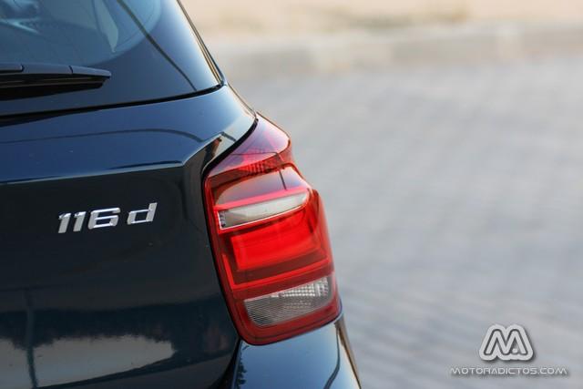 Prueba: BMW 116d Urban (equipamiento, comportamiento, conclusión) 9