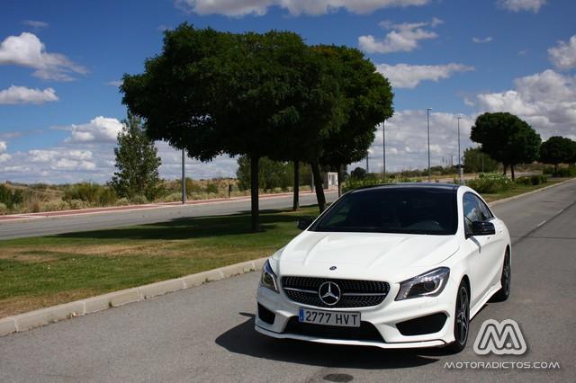 Prueba: Mercedes Benz CLA 220 CDI AMG Line (diseño, habitáculo, mecánica) 7