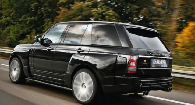 """Range Rover AR 9 Spirit, 140 caballos """"extra"""" para el Range Rover de Arden 1"""