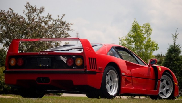 Sale a subasta el Ferrari F40 de Rod Stewart 2