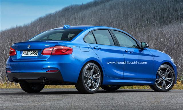 Un vistazo al BMW Serie 1 sedán que llegará en 2016 1
