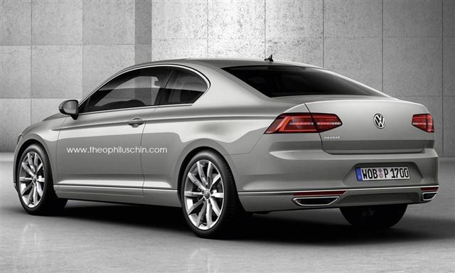 Una idea: Volkswagen Passat Coupé, ¿por qué no? 2