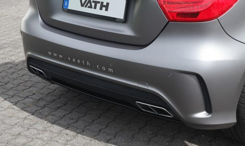 Mercedes A45 AMG bajo el rodillo de VATH International