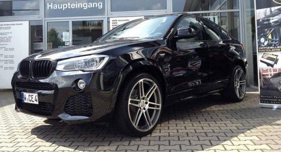 Mejoras estéticas para el BMW X4 de Manhart
