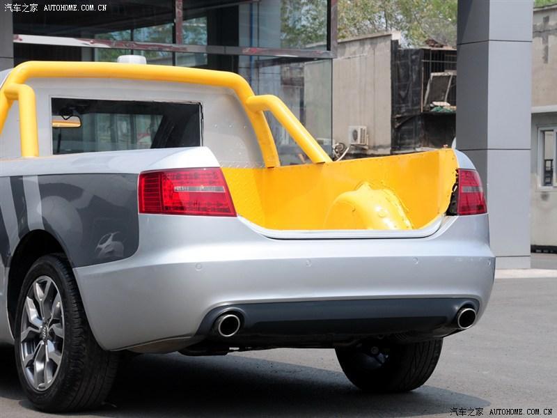 ¿Alguna vez imaginaste un A6L pickup? Ahora es una realidad, gracias a un concesionario chino 4