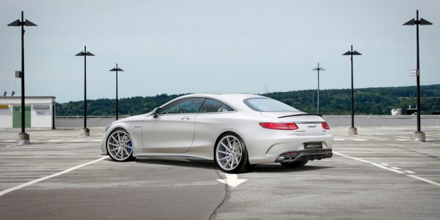Así luce el Mercedes S63 AMG Coupé de Voltage Design 1
