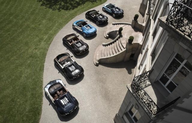 Bugatti reúne a todas Les Légendes en Pebble Beach 2