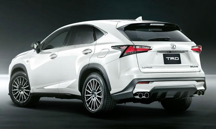 Haz tu Lexus NX más deportivo con los kits de TRD 1
