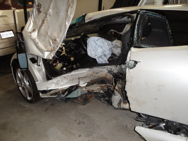 Lesionado de gravedad tras sufrir un brutal accidente a bordo de un Lamborghini Murciélago 2