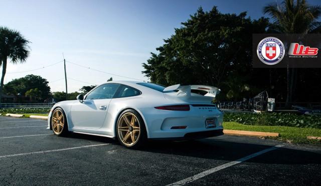 Llantas de aleación HRE Performance para el Porsche 911 GT3 2