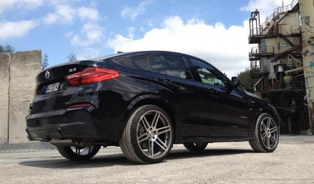 Mejoras estéticas para el BMW X4 de Manhart 2