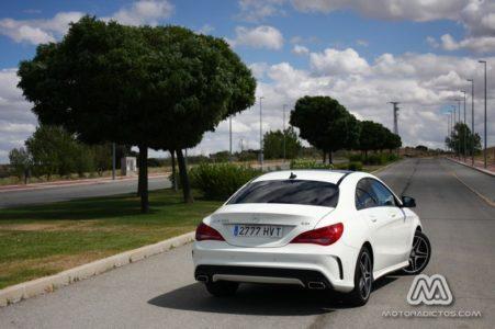Prueba: Mercedes Benz CLA 220 CDI AMG Line (equipamiento, comportamiento, conclusión)