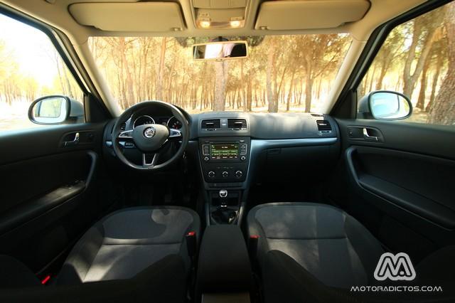 Prueba: Skoda Yeti Outdoor 2.0 TDI 110 CV (diseño, habitáculo, mecánica) 4