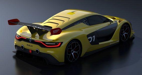 Renault Sport R.S. 01: Sabor Alpine y motor V6 de 3.8 litros del GT-R