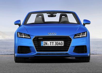 Audi TT Roadster 2015: La carrocería descapotable llega a la tercera generación