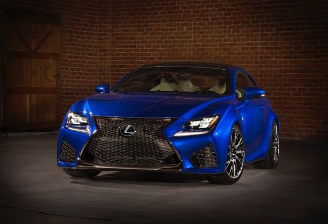 Ahora si, Lexus hace oficial el RC-F 2
