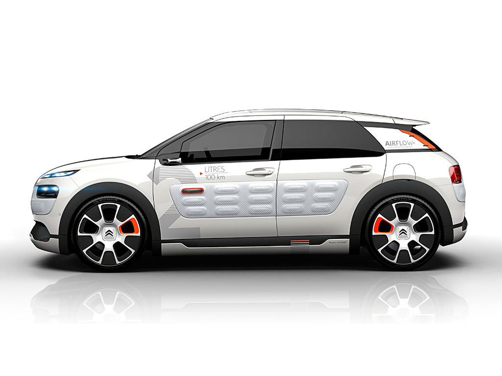 Citroën C4 Cactus Airflow 2L: Un prototipo que consume 2l/100 km 2