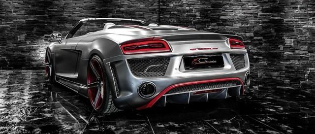 CT Exclusive se atreve con el Audi R8 Spyder 1