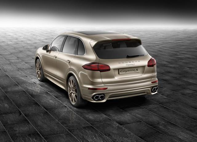 Más exclusividad para el Porsche Cayenne gracias a Porsche Exclusive 2