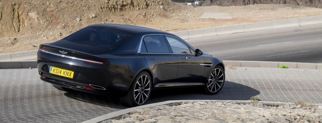 Megagalería de imágenes: Aston Martin Lagonda 1