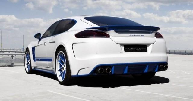Mejoras estéticas para el Porsche Panamera por TopCar 3