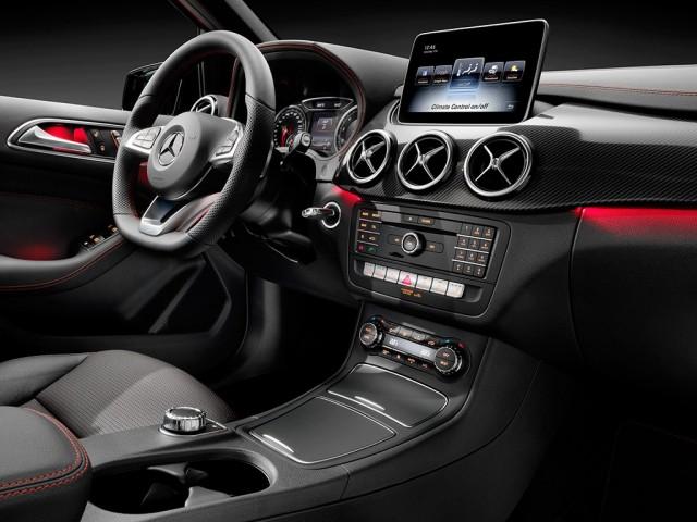 Mercedes-Benz Clase B 2015: Puesta al día de aspecto y equipamiento 2