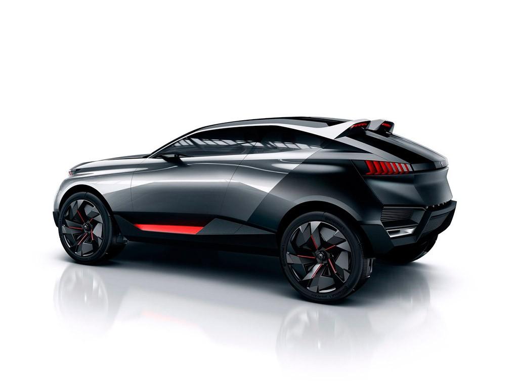 Peugeot Quartz Concept: El SUV galo de 500 CV 1