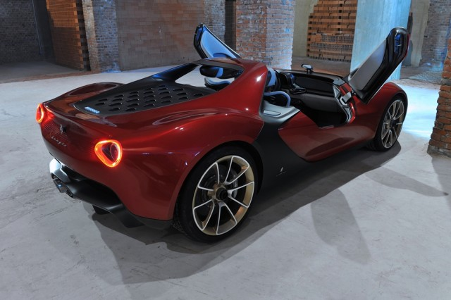 Pininfarina Sergio Concept, de prototipo a vehículo de calle 1