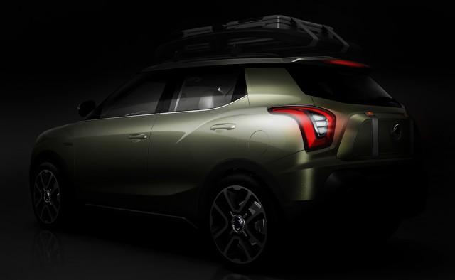 """SSangYong nos mostrará en París una versión """"casi"""" definitiva de su próximo SUV compacto 1"""