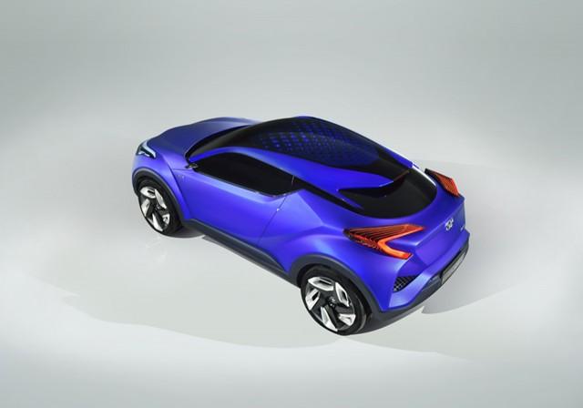 Toyota C-HR Concept: Primeras imágenes filtradas 1