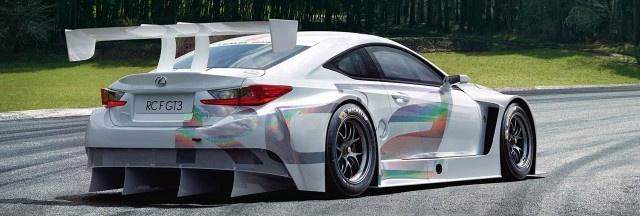Así luce el nuevo Lexus RC F GT3 1