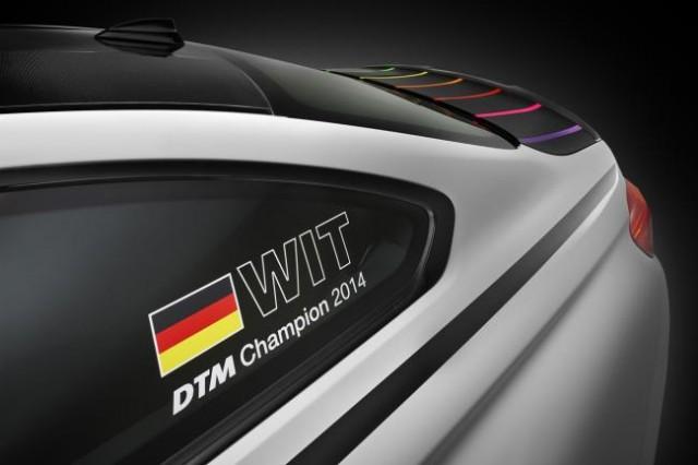 BMW lanza un M4 exclusivo para celebrar el campeonato DTM 2