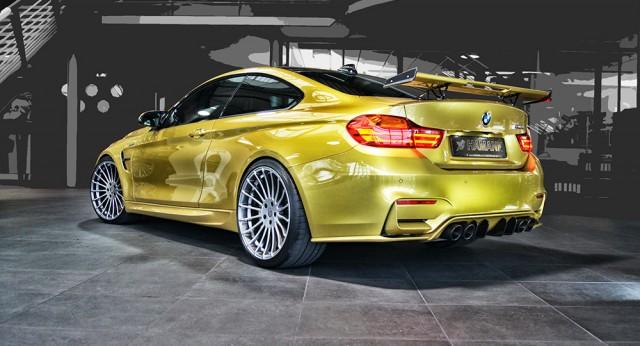 BMW M4 bajo el rodillo de Hamann 2