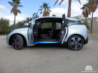 Prueba: BMW i3 (equipamiento, comportamiento, conclusión)