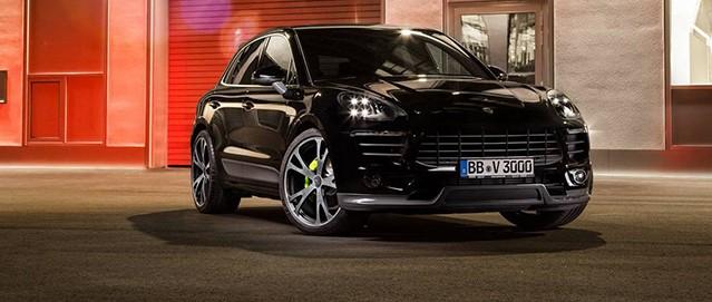 Cambios estéticos para el Porsche Macan de TechArt 2