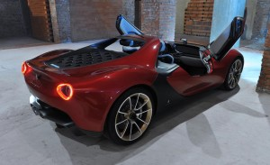 Finalmente se fabricarán seis Pininfarina Sergio Roadster 1