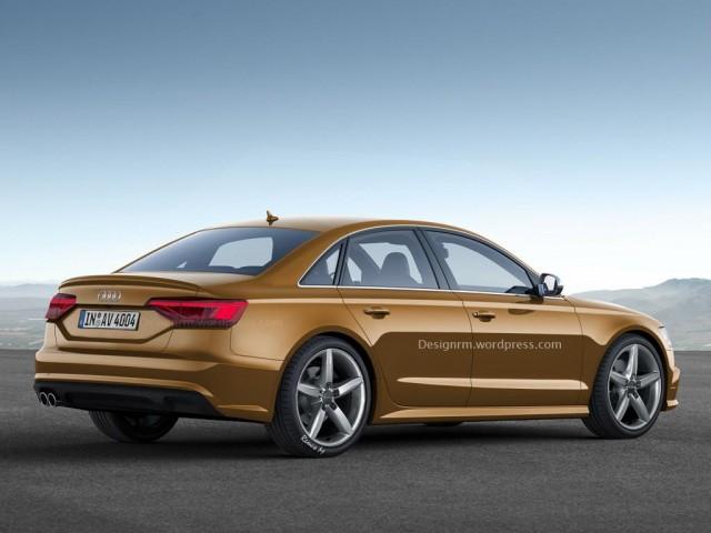 Más cerca del próximo Audi A4, deb 1